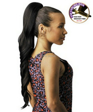 wavy ponytail hairstyle sexy