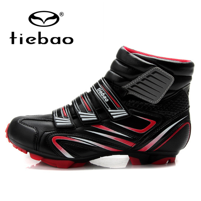 TIEBAO Professional Bicycling Cycling Shoes Men Women MTB Mountain Bike Racing Shoes Windproof Athletic Self-Locking Ankle Boots(China (Mainland))