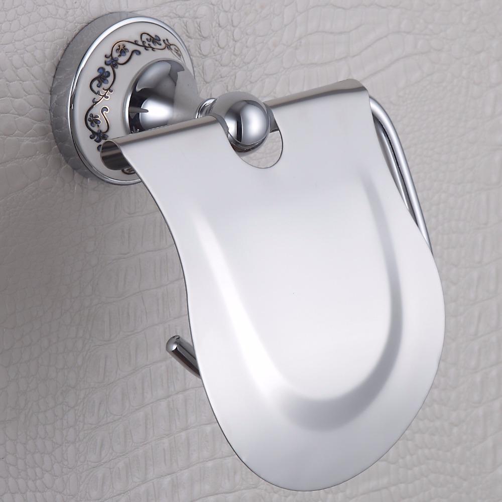 White Ceramic Toilet Roll Holder Promotion Shop For