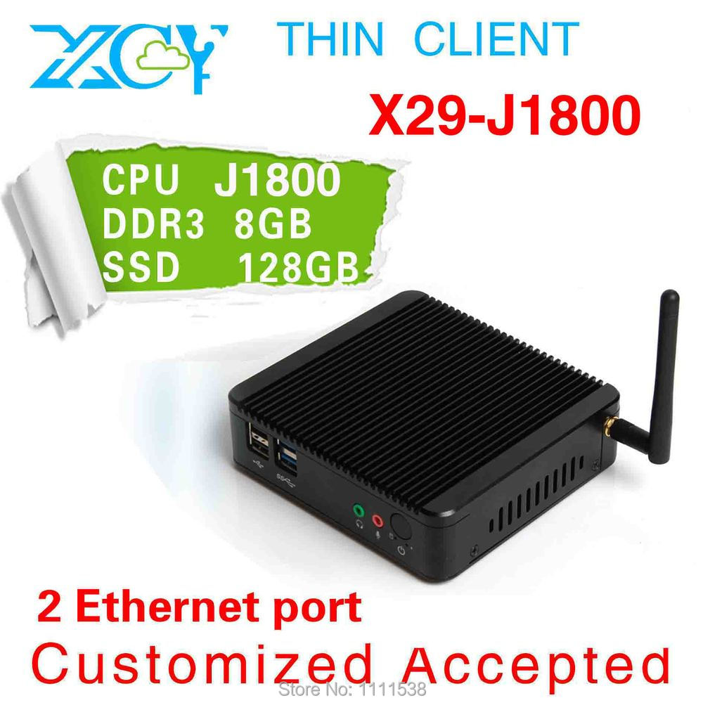 Low price good quality! XCY J1800 advertise computer Medical Panel PC 8g ram 128g ssd fanless box computer(China (Mainland))