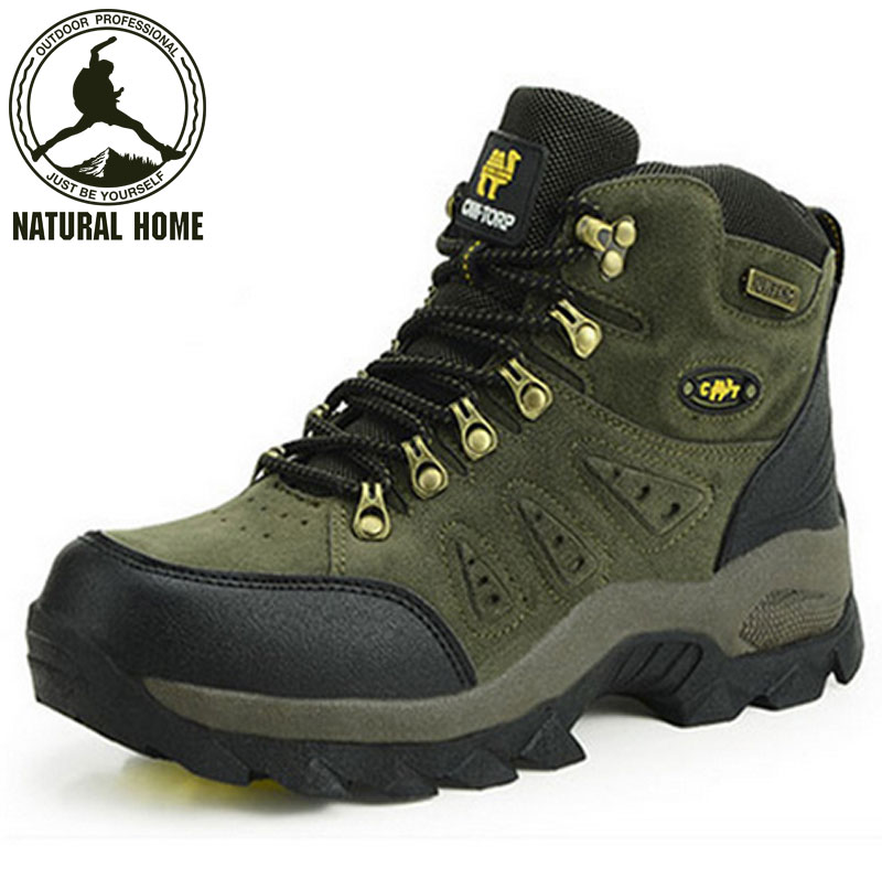 2014 new style hiking shoes men breathable outdoor anti-skid trekking boots womens high quality walking shoes<br><br>Aliexpress