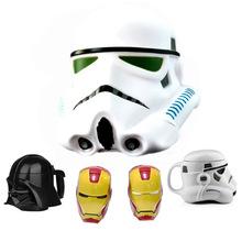 1PCS Personality Star Wars 3D Mug Cup Black Darth Vader Stormtrooper Iron Man Mug Creative Cups And Mugs Coffee Tea Cup Gifts(China (Mainland))