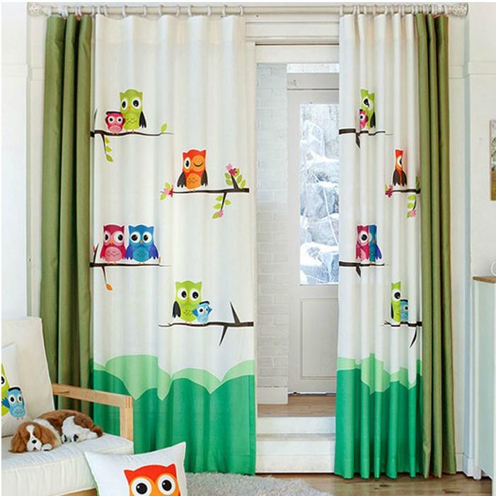 Vente en gros rideaux hibou d 39 excellente qualit de grossistes chinois rideaux hibou for Rideaux chambre bebe