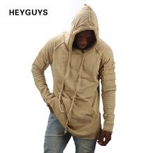 HEYGUYS новый дизайн балахон разорвал повреждения мужчины цвет мода толстовки бренд orignal дизайн casual спортивный костюм свитер костюм осень(China (Mainland))