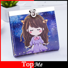 Buy Fashion Women Cards Holder Lady Purse Business Credit Bank Card ID Holders PU Leather Cute Girls Clutch Woman Card Case Wallets for $4.50 in AliExpress store