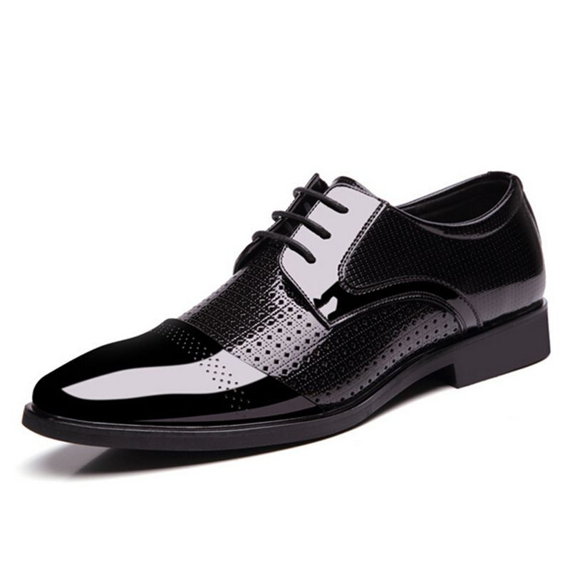 big size 37 48 summer breathable leather shoes fashion