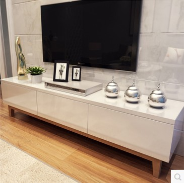Tv armoires blanc bois de peinture combinaison de cr ativit ikea salon moder - Meuble de salon ikea ...