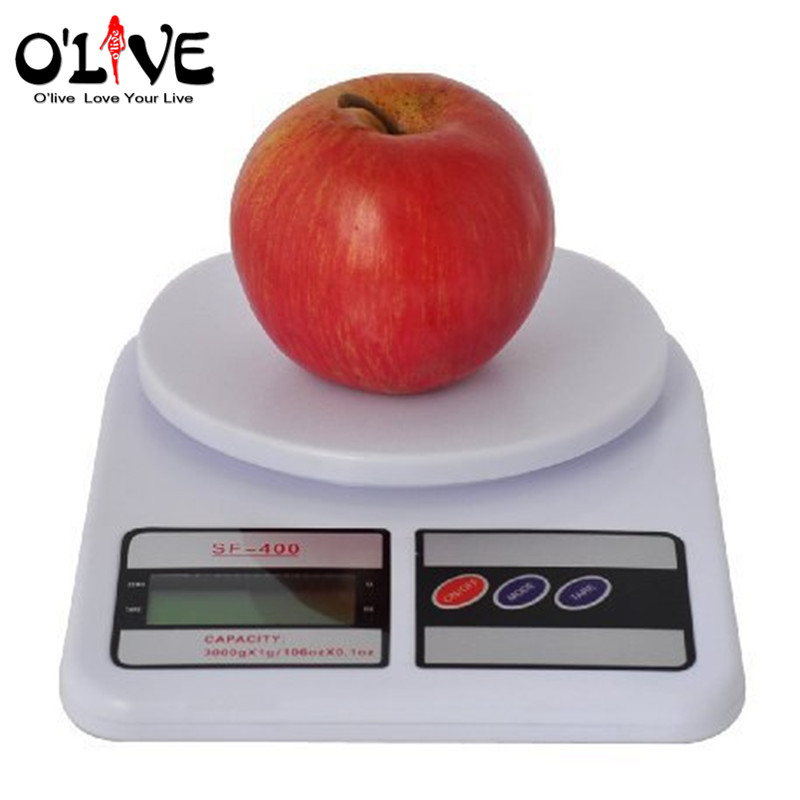 10kg digital kitchen scales electronic kitchen food baking for Best kitchen scale for baking