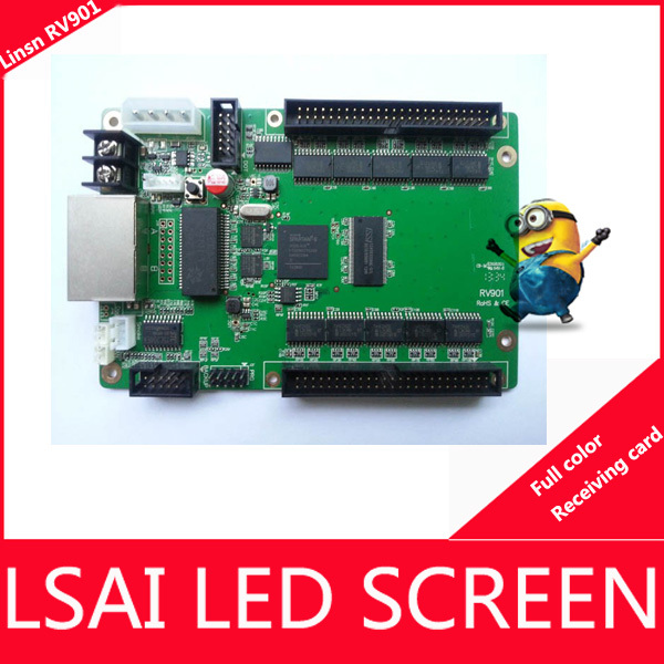 LINSN Full Color RV901 LED display Receiving card  LINSN receiving cards outdoor indoor led modules(China (Mainland))