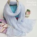 Necklace scarf 100% pure silk Winter maxi hijabs fashion brand warm women's n spring chiffon silk scarves british twilly Shawl