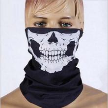 Halloween Skull Skeleton Party Masks Black Motorcycle Bandanas Headwear Hat Scarf Neck Scary Sport Face WinterSki Mask balaclava