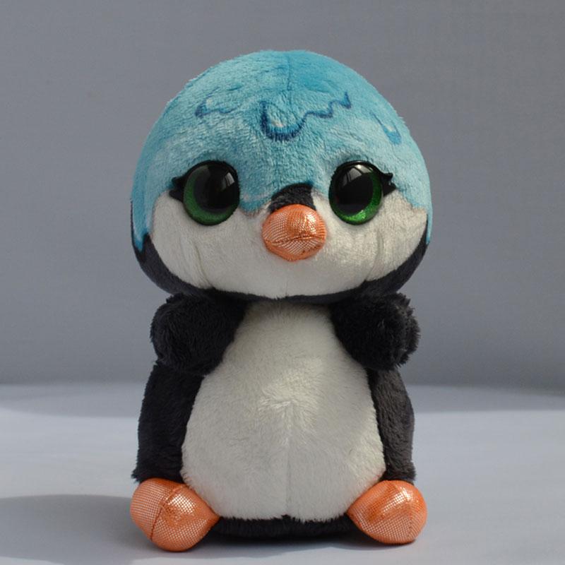 15cm Beanie Boos Big Eyes Cotton Kawaii Mini Penguin Soft Doll Stuffed Penguins Cute Animal Valentine Gifts(China (Mainland))