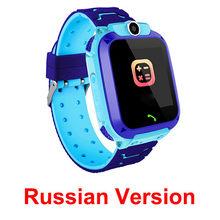 S12 Смарт-часы для детей IP67 Водонепроницаемый спортивные умные часы Android детей sos-вызов Смарт-часы с камерой SIM карты HD Сенсорный экран(China)