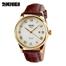 Mens Watches Top Brand Luxury Quartz Watch Skmei Fashion Casual Business Watch Male Wristwatches Quartz-Watch Relogio Masculino(China (Mainland))