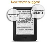 original kindle ebook reader e-ink screen built-in 4 gb black  wifi 6″  free shipping