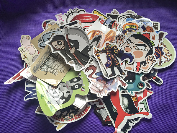 50 piece 1 lot Automobiles Motorcycles 300 Kinds Of Different Styles Cartoon Styling Graffiti stickers