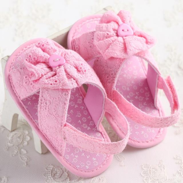 Kindstraum девочки сандалии 2016 летний стиль цветы дизайн хлопка обувь для новорожденных, ...