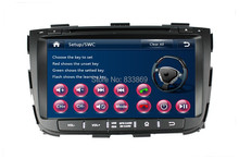 1080P HD 2 din 8″ Car DVD GPS Navigation for Kia Sorento 2013 With Bluetooth IPOD TV Radio / RDS SWC AUX IN USB