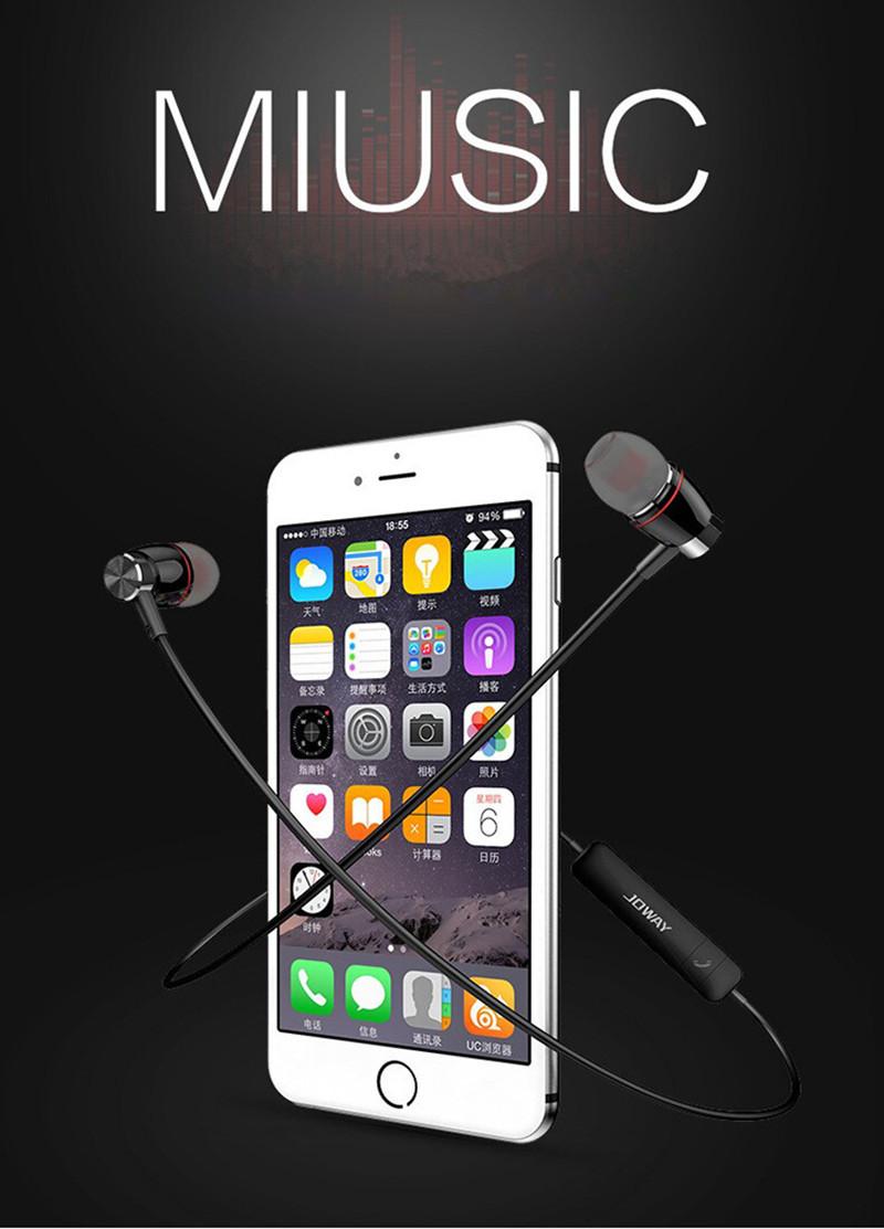 JOWAY H08 Bluetooth 4.0 Wireless High Quality Stereo Sports Earphone