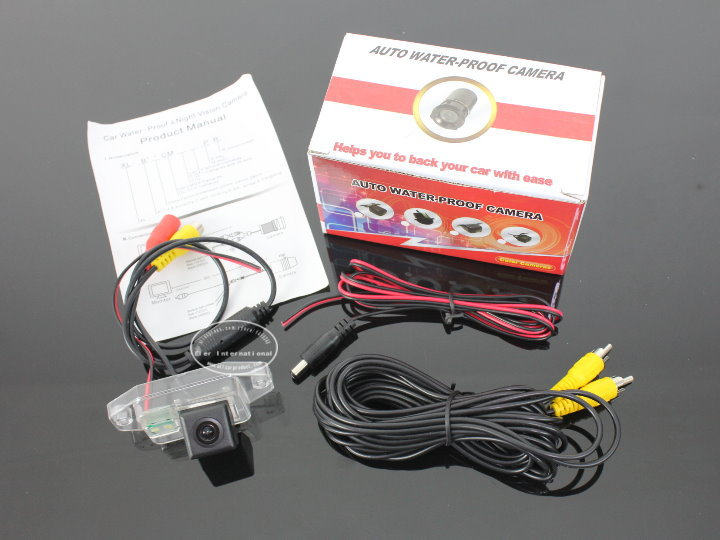 Car Rear View Camera / HD Back Up Reverse Camera / For Land Cruiser Prado Middle Easy Countries / License Plate Lamp Plug & Play(China (Mainland))