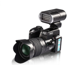D3200 digital camera 16 million pixel camera Professional SLR camera 21X optical zoom HD LED headlamps camara de fotos