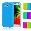 Candy Silicone TPU Soft Plastic Case For Samsung Galaxy S3 S III i9300 Duos i9300i S3