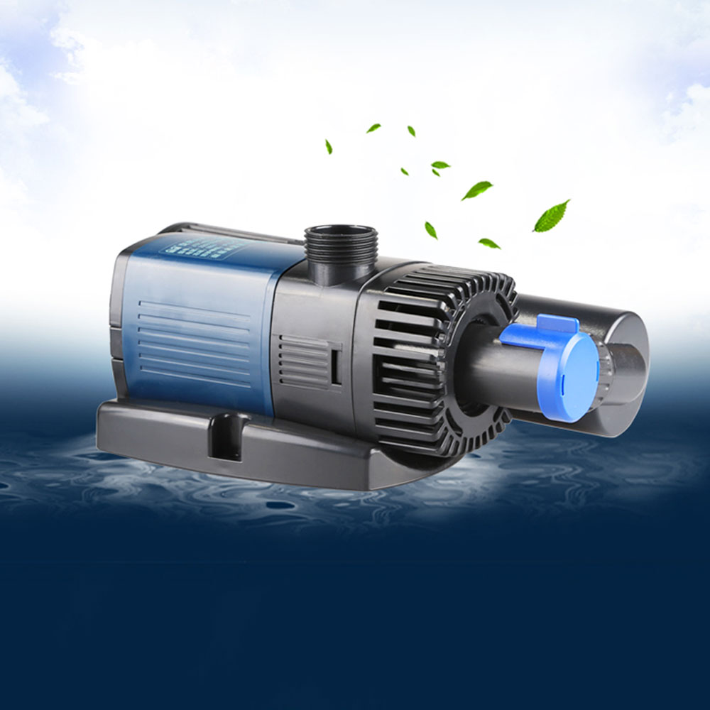 740gph 18w variable frequency pump filter uv sterilizer for Pond pump with uv filter