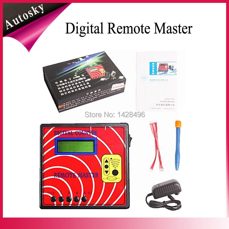 Promotion Sale Remote Master Counter Remote Control Transponder Programmer Digital Counter Remote Master Key Programmer(China (Mainland))