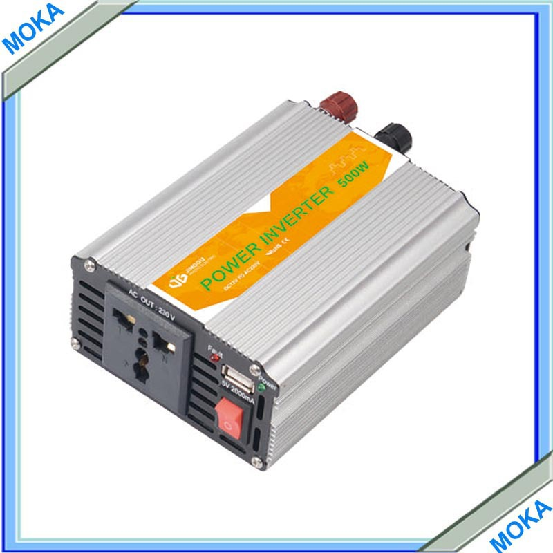 Free Shipping 500w Solar Power Product Inverter Widely Used 50/60HZ Car Used Power Inverter(China (Mainland))