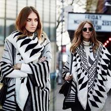 2016 New designer scarves fashion scarf women scarves winter thicken wool cashmere warm scarves Elegant Multifunction shawl(China (Mainland))