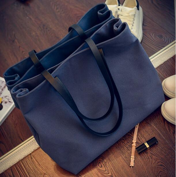 stacy bag 030316 hot sale women handbag female large tote lady big canvas bag(China (Mainland))
