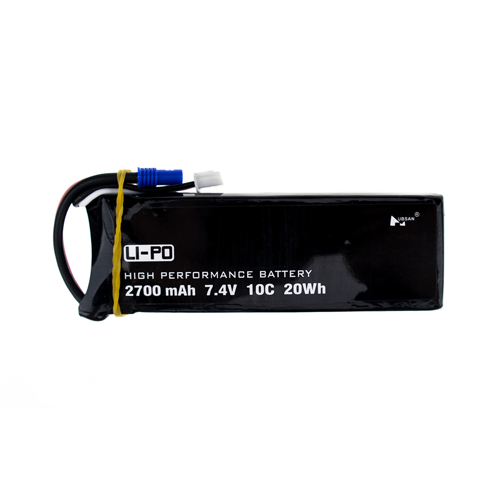 Original Hubsan H501C H501S X4 7.4V 2700mAh lipo battery 10C 20WH battery For RC Quadcopter Drone Parts
