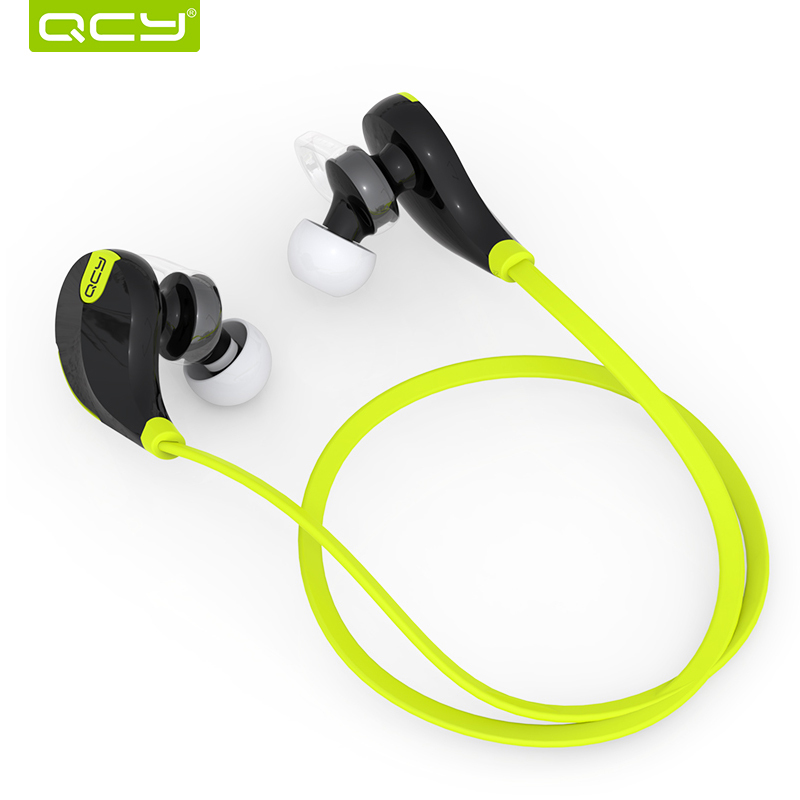 English QY7 Bluetooth Headset for Mobile Phone QCY Headset For Xiaomi Huawei Sport Wireless Bluetooth Earphone