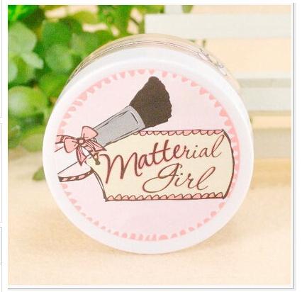 Makeup makeup girl wholesale matte powder mineral oil light powder 14g Finishing powder(China (Mainland))