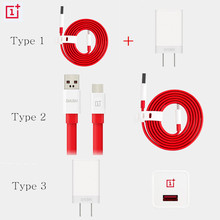 Genuine Oneplus 3 Dash Charger Adapter Type C Data Cable Oneplus Three Quick Charging Original Official One Plus Wall Charger