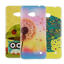 soft ultra thin TPU shockproof printing fashion Shell For Microsoft Lumia 640 Lte Dual Sim Cell Phone Case For Nokia 640 N640(China (Mainland))