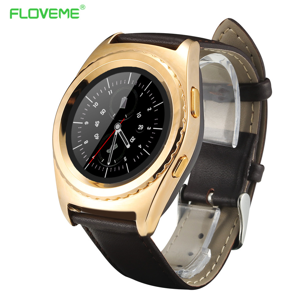 Clock Sync Notifier Support Sim Card Bluetooth Paired Android Phone Smartwatch Facebook WhatsApp Watch Heart Rate Tracker Gift(China (Mainland))