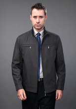 2014 new spring autumn men formal leisure jacket coat solid business casual jacket size M - XXXL the quality of the brand(China (Mainland))