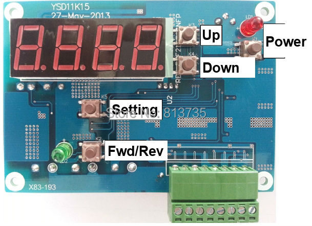 8~30V Stepping Pump driver and controller with digital display(China (Mainland))