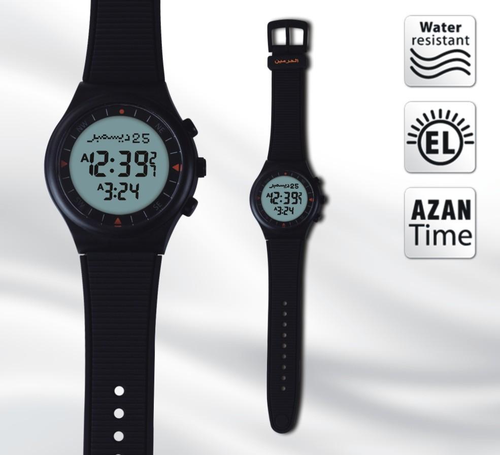 azan watch 6506 Islamic Qibla Prayer Compass Muslim Watch best islamic gifts - Vanmir Technology Co,.Ltd. store
