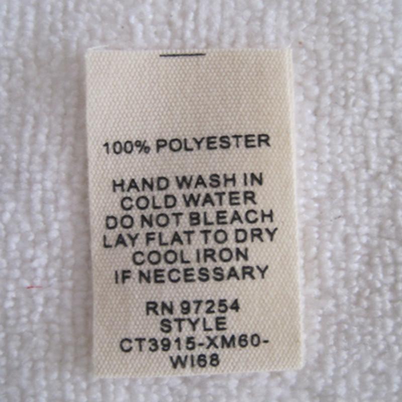 100 cotton washing instructions