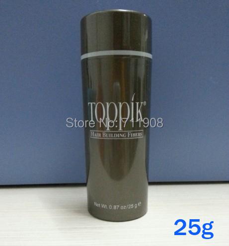 Toppik cabelo produto de perda de fibras do cabelo 30 segundos de tornar-se mais 25 g de uma peça 02