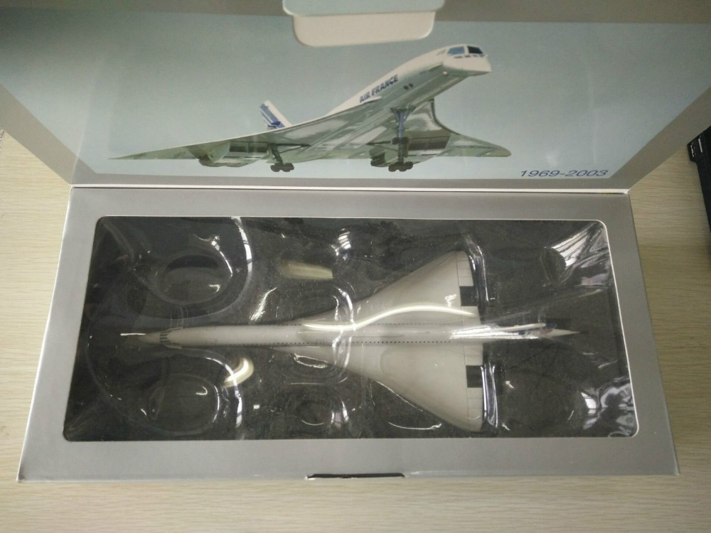 Collectible F-BVFB 1/200 Scale Diecast Mannequin Plane Artwork-No.14551 Socates Air France Concorde Airplane Mannequin Children Toys
