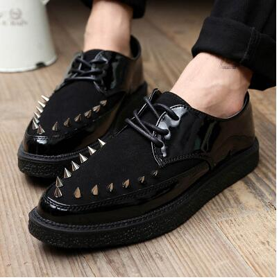New 2015 leopard shoes sapatos masculinos creepers men chaussure homme<br><br>Aliexpress
