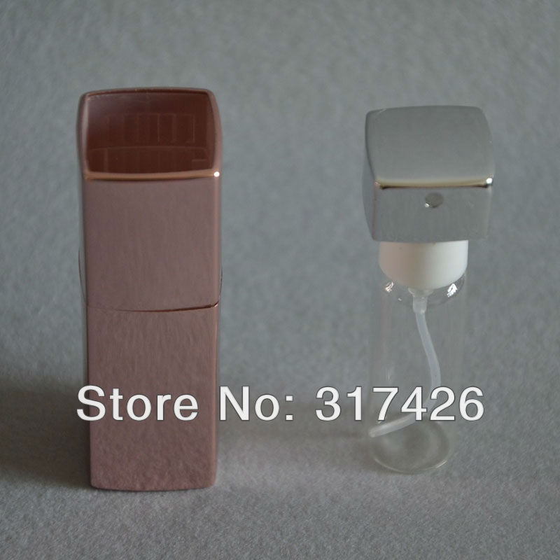Free shipping-10ml aluminum perfume bottle,,twist glass perfume bottle,Amazing Travel Perfume Atomizer, Refillable Spray