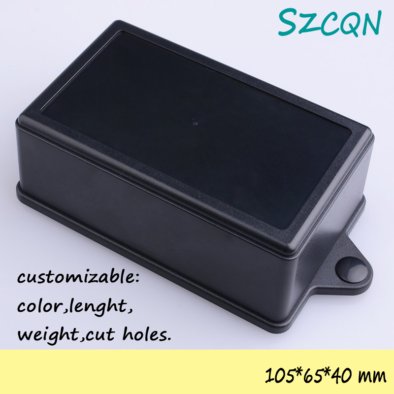 [] diy plastic enclosure electronic wall mount project boxes abs electrical junction box 105*65*40mm - QN-Enclosure Technology CO.,ltd store