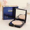 3 Color Translucent Pressed Powder With Puff Smooth Face Makeup Foundation Waterproof Loose Powder Skin Finish Setting Powder