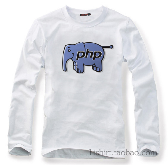 Autumn linux it series php T shirt cotton long-sleeve T-shirt(China (Mainland))