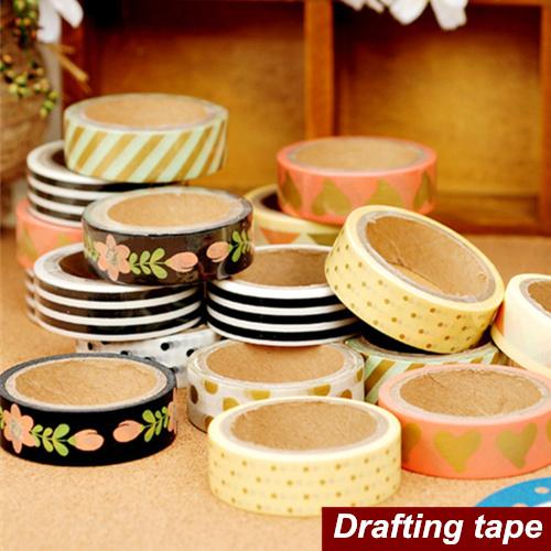 8 pcs/Lot Paper tapes Tree art Drafting tape washi masking decorative adhesive tape scrapbooking tools stickers Stationery 6467(China (Mainland))