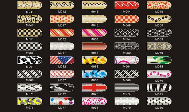 20packs/lot Nail Stickers  Nail Art Decal Decoration Beauty Nail Tools Free Shipping